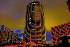 Trump Hollywood, 2711 South Ocean Drive, Hollywood, Florida, USA / Architect: Robert M. Swedroe Architects / Built: 2009 / Height: 442.91 ft / Floors: 40 / Architectural Style: Modernism (Jorge Marco Molina) Tags: robertmswedroearchitects trumphollywood 2711southoceandrive condominium highrise curtainwall concrete glass hollywood hollywoodbeach city cityscape urban downtown skyline browardcounty southflorida density centralbusinessdistrict skyscraper building architecture commercialproperty cosmopolitan metro metropolitan metropolis sunshinestate realestate palmtrees urbanpalms beach