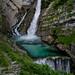 Slap Savica waterfall, Slovenia