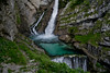 Slap Savica waterfall, Slovenia (The_mediterranean_traveler) Tags: colours colourful traveling blog green nationalpark triglavnationalpark nikond5300 nikon rawimages naturephotography nature travel backpacking hiking europe slovenia waterfall
