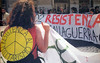 25 aprile 2002 (dindolina) Tags: resistenza resistance peace pace nowar bastaguerra antimilitarism antimilitarismo roma rome italy italia 2002 25aprile banner striscione romasocialforum