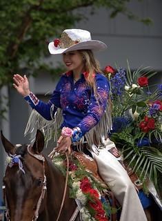Grand Floral Parade Rider