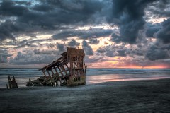 Peter Iredale (prose729) Tags: fortstevensstatepark peteriredale oregon pacificnorthwest pacificocean ship shipwreck sunset landscape seascape