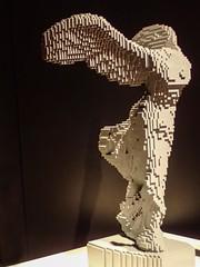 Life-sized Winged Victory of Samothrace recreated by Lego artist Nathan Sawaya (mharrsch) Tags: venusdemilo greek nike lego sculpture art nathansawaya artofthebrick exhibit omsi oregonmuseumscienceandindustry oregon mharrsch