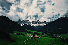 Dolomites (░░░░░░░░░░) Tags: dolomites santa maddalena alps mountains village cloudy storms south tyrol italy italian