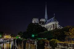 Cathédrale Notre-Dame de Paris - HDR (gilles_t75) Tags: d7200 france gillest hdr nikkor1024mmf3545 nikon bracketing exposurefusion highdynamicrange photohdr photomatix tonemapping îledefrance parisiv 75004 église paris75 cathédrale notredamedeparis notredame parisbynight
