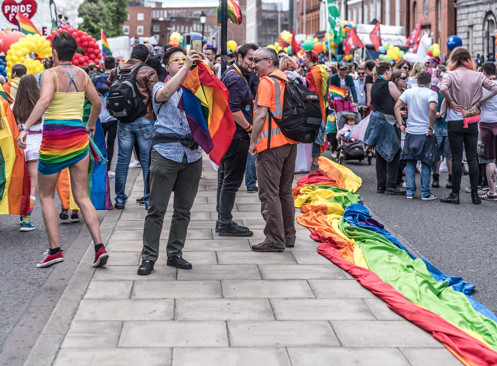 LGBTQ+ PRIDE PARADE 2017 [STEPHENS GREEN BEFORE THE ACTUAL PARADE]-129772