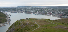 My Hometown (Loops666) Tags: stjohns harbour downtown water hill mountain signalhill grass green trail tourism city town humanity