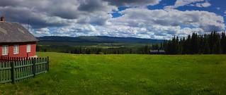 Sunday in the valley Tisleidalen, Valdres, Norway