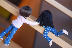 Please don't fall...!~ (Lunelle♥) Tags: fairyland littlefee ltf leah pipi ball jointed doll bjd