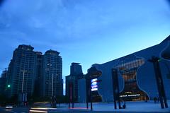 2017夏至-藍色歌劇院 DSC_0086 (linlin055) Tags: 藍天 歌劇院 戶外 市區 街景 台中市 taichungcity cityscape 台中國家歌劇院 bluesky