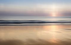 Ocean Colour Scene (Bruus UK) Tags: padstow beach sunset dusk ocean coast reflection sand tide movement blur layers cornwall evening waves surf sea seascape lowtide water