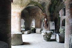 Rubble below Amphitheater (California Will) Tags: pozzuoli italy italia naples roman ruins flavian amphitheater anfiteatro flaviano puteolano
