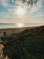 (thedankandthedark) Tags: water california summer iphone7plus iphone7 sunsetonthebeach sunset sun clouds cloud nature outdoor montereycounty watsonville santacruz laselvabeach laselva sky sand ocean beach