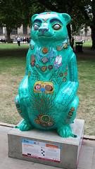 We are going on a Bear Hundertwasser (ahisgett) Tags: birmingham children's hospital charity wild art big sleuth 2017 bearmingham