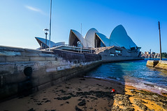 DSC00226 (Damir Govorcin Photography) Tags: sand water architecture harbour sydney opera house wide angle natural light sony a7rii zeiss 1635mm perspective creative composition
