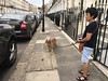 Max and Espe (jovike) Tags: animal dog espe london street woman
