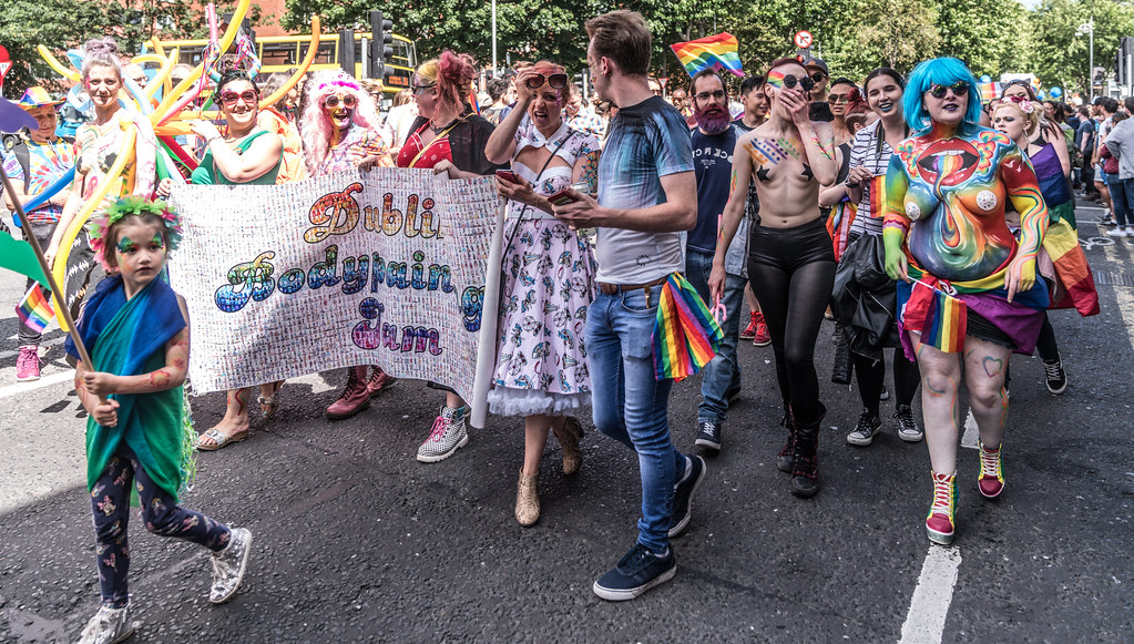LGBTQ+ PRIDE PARADE 2017 [ON THE WAY FROM STEPHENS GREEN TO SMITHFIELD]-130157