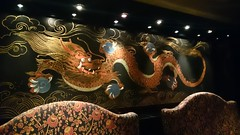 painted dragon 🐉 (By Michael Fernandes) Tags: painting dragon chines restaurant michael fernandes