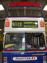 The 900X! (WMT6832TWM3053) Tags: westmidlandstravel 3053 mcw metrobus mk2a coventry birmingham route900 f53xof preservedbus travelcoventry