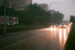 raining bubbles (szmenazsófi) Tags: smenasymbol smena lomosmena analog analogue film 35mm fujicolor rain storm hungary budapest stormy rainy eső vihar