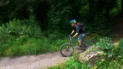 Playing in the Woods (Gee & Kay Webb) Tags: mtb mountainbike trails trees outdoors bike bicycle cycling riding sandwellvalleypark