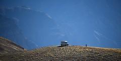 Our driver and vehicle in the high Himalayas, India 2016 (reurinkjan) Tags: india 2016 ©janreurink himachalpradesh spiti kinaur ladakh jammuandkashmir kargil spitivalley langza driver car himalayamountains himalayamtrange himalayas landscapepicture landscape landscapescenery mountainlandscape