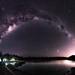 Milky Way over Lake Leschenaultia