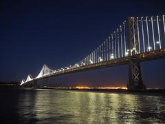 San Francisco 2016 (hunbille) Tags: usa america california sanfrancisco san francisco oakland bay bridge oaklandbaybridge baybridge rinconpark rincon park dusk