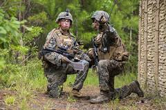 170621-M-VA786-015 (U.S. Department of Defense Current Photos) Tags: marinecorps rifle infantry mout raid humvee guns lukehoogendam cpllukehoogendam camplejeune northcarolina unitedstates us