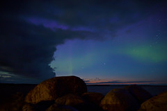 Canada Day @ the Narrows (roughtimes) Tags: 201707013782 copy1 12 bottle tequila down margaritas canada day 150 anniversary lake manitoba narrows lodge pier fishing northern lights sunset hemisphere life clouds aurora borealis gonna need do over this one is where go night with golf cart