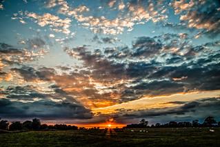 Leicestershire sundown