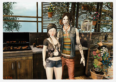 We're Just Here for the Food (Ralphie Lykin) Tags: secondlife malefashion femalefashion decor drd cubiccherry k