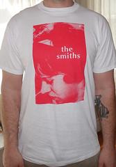 #2175A the Smiths - Hand In Glove (Minor Thread) Tags: minorthread tshirtwars tshirt shirt vintage rock concert tour merch white 1984 thesmiths morrissey moz handinglove sandishaw roughtrade records britpop pop
