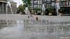 fontein (Dirk de Bood) Tags: fountain town square wilhelminaplein leeuwarden water fontein summer