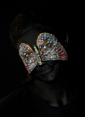 Face of the Butterfly (Pete Foley) Tags: overtheexcellence bodypaint model facepaint moonchen skincitybodypainting petefoleyphotography robinbarcusslonina art littlestories picswithsoul