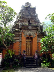ubud_020 (OurTravelPics.com) Tags: ubud gate with closed doors puri saren agung palace