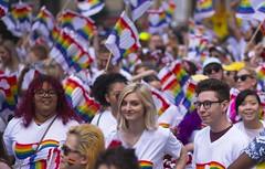Where a rainbow starts. (Chi Ken Yeung) Tags: prideparade toronto nikond750 nikon28300mm