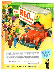 1952 Reo Tractor-Trailer Rig (aldenjewell) Tags: 1952 reo tractor trailer rig ad