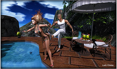 ♥ JOKE ♥ (ladychrissseyyal) Tags: ♥ joke posesamposes overboard samposes for the avenue event her outfitvoluptasvirtualis izzy topbottom sanom braceletearringsnecklace voluptasvirtualis liaison collaborative opens 7th until 30th shoesglamistry zinnia heels glamistry him outfitdimis bag beach party dimis swank decor etnia rustic summer rattan tablechair main store krescendo rock pool cosmopolitan