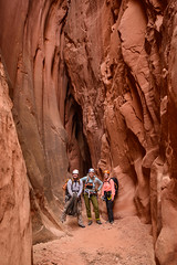the canyoneering team (Sam Scholes) Tags: redrockcountry utah robbersroostwilderness nikon slotcanyon d800 dslr neverstopexploring southernutah canyoneering canyoncountry dirtydevil wilderness getinthewild