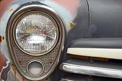 "Old Truck Headlight (WhiPix) Tags: tuckahoe headlight truck ""new jersey"" antique 3130 chevrolet chevy lamp rust restore"