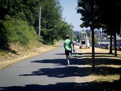 Half-way (kelsimad) Tags: day17 biking grayson burkegilmantrail kenmorewa summerdailies