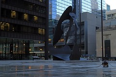 Cleansing Picasso Plaza - Downtown Chicago - 06 Jul 2017 - 80D (Andre's Street Photography) Tags: downtownchicago06jul201780d downtown chicago loop central picassoplaza daleyplaza pablopicasso outdoor steel metal sculpture art outdoorart square plaza dusk nightfall sunset darkness descende cleaning cleansing hosingdown civicplaza tourist destination color chicaoist chicagotribune chicagoreader chicagojournal chicagomagazine urban architecture fineart modernart canon eos eos80d efprime 40mmprime ef40mmf28stm pancake lens