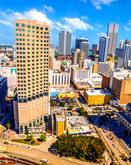 One day trying to understand the gaze of the Gods. (Aglez the city guy ☺) Tags: downtown downtownmiami walkingaround city cityscapes architecture colors myurbanexploration urban