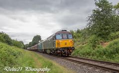20170707-IMG_0399 (deltic21) Tags: british britishrail brgreen brblue rail railway railways elr eastlancs northwest lancashire lancs d7629 25 rat sulzer class25 crompton 33 33109 bagpipe burrs bury