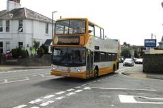 18306, Babbacombe Road, Torquay, 08/07/17 (aecregent) Tags: babbacomberoad torquay 080717 stagecoachsouthwest trident alx400 opentopper 122 hop122 gary garytherabbit