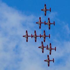 Parliament Hill Flypast (rickmacewen) Tags: ottawa parliamenthill ontario canada airplane aircraft snowbirds flypast