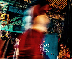 The darkness (Julien Cha.) Tags: bangkok krungthep soinana dark thailand southeastasia dramatic nana redlight