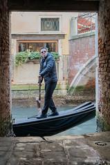 Venice (tom.frohnhofer) Tags: tomfrohnhofer 2017 doorway rude gondoliers venice italy