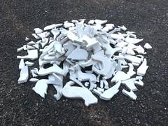 Auschwitz inizia quando si guarda un mattatoio e si pensa: sono soltanto animali  - Theodor Wiesengrund Adorno (Elisabetta Erica Tagliabue) Tags: animali ceramica vegan parma etica installazione arte contemporanea spirale tempo sonoro sitespecific